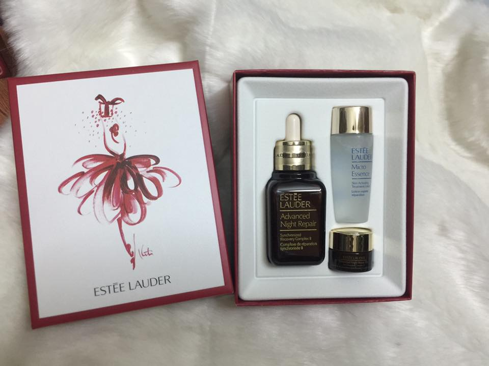 Set Dưỡng Da Estee Lauder Repair + Renew for Radiant, Youthful-Looking Skin Limited Edition