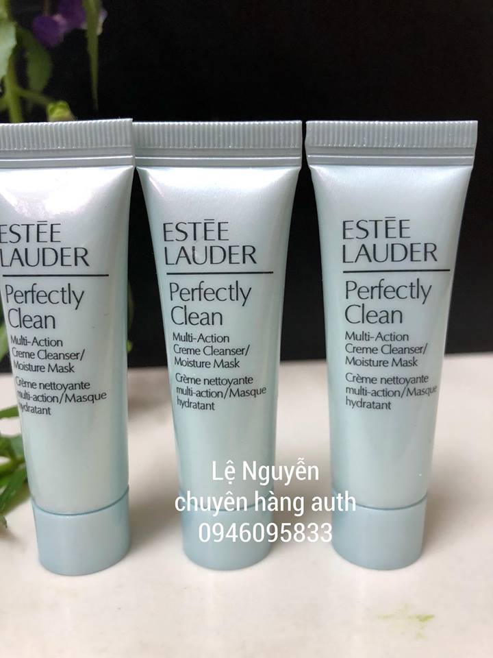 Estée Lauder Perfectly Clean Multi-Action Foam Cleanser/Purifying Mask l