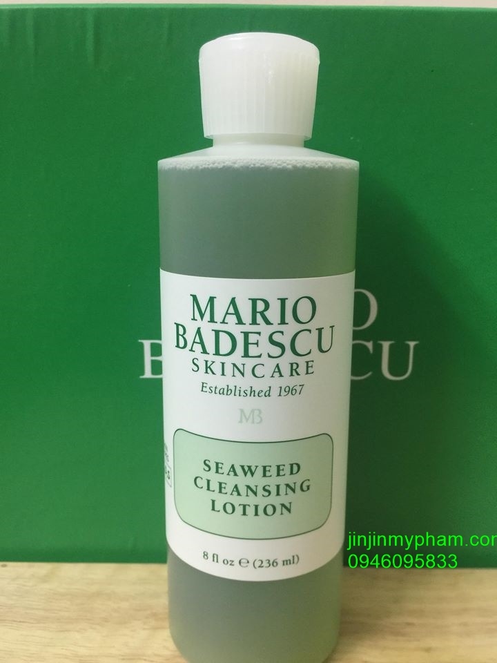 Mario Badescu Seaweed Cleaning Lotion.